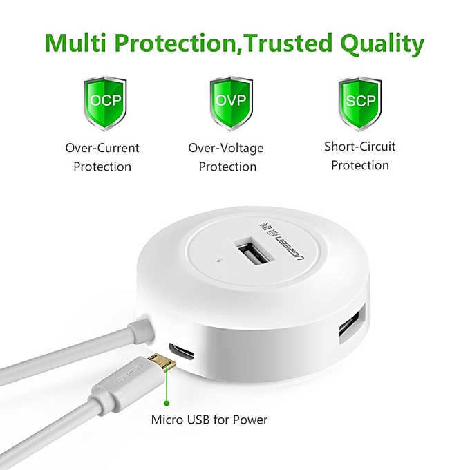 ... EReaders USB 2.0 Hub 4 Ports with OTG Function Compatible for PC, Cell Phones, EReaders ...
