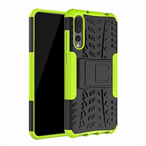 lowest price 50732 58977 For Huawei P20 Pro Armor Heavy Duty Hybrid Stand Case For Huawei P20 Pro  Daul Color Cover Defender 6.1inch
