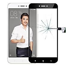 MOFI Xiaomi Redmi 4X 0.3mm 9H Hardness 2.5D Explosion-proof Full Screen Tempered Glass Screen Film (Black)