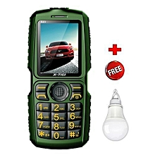 S23 - 10000 mAh Powerbank Phone - Black & Green plus USB Light