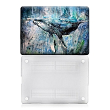 Painting Laptop Protecting Case For Macbook Air 13 inch Anti-scratch Cover white