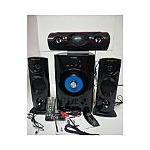 SP371B - 3.1 Channel Bluetooth Subwoofer Multimedia Speaker - Black