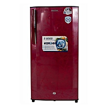 BRS 200 - 170L - Single Door Direct Cool Refrigerator - Red