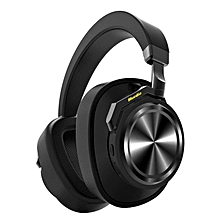Bluedio T6 (Turbine) Active Noise Canceling Bluetooth Headphones Stereo Wireless Over-ear Headphones Built in Mic, 25 hours playtime with comfortable earpads BDZ Mall