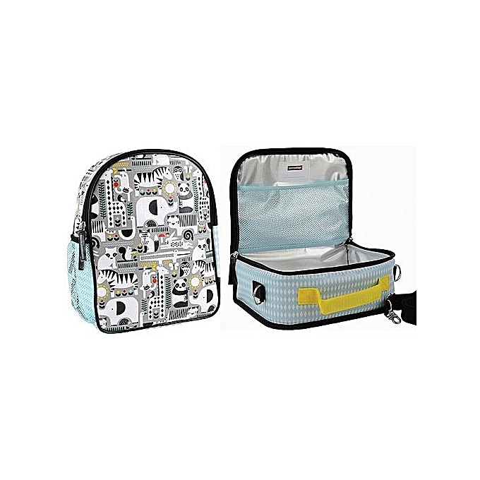 b54c1e3301 Generic Petit Collage Kids School Bag And LunchBox -UNISEX   Best ...