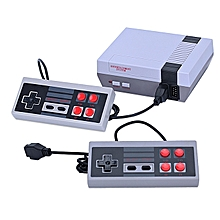 TV Game Console 8Bits Family Portable Gaming With Dual Game-pad Built-in 620 Games AV Out Retro