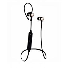 Wireless Sports S6-1 Bluetooth Earphone - Golden & Black