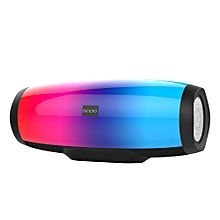 SODO L1 Wireless Bluetooth Speaker Bluetooth 4.2 TWS Support NFC TF Card U-Disk FM Radio Hands-free Call Dimming Dual Speakers Portable Subwoofer
