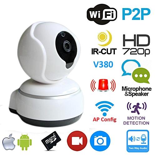 Dome Camera Cloud Wireless IP Security Surveillance System 720p HD Night  Vision 1 0 Megapixel CMOS TXSHOP