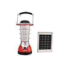 GES5512 -Solar Emergency Lantern-Solar Panel-Red