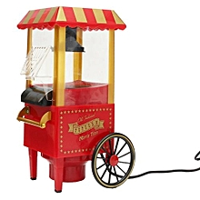 Pro Useful Vintage Retro Electric Popcorn Popper Machine Home Party Carnival New