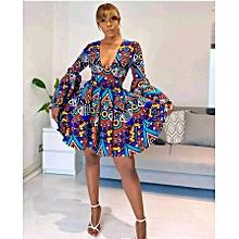 Kitenge Fabric, 6 yards/5.486Metres - 100% Cotton