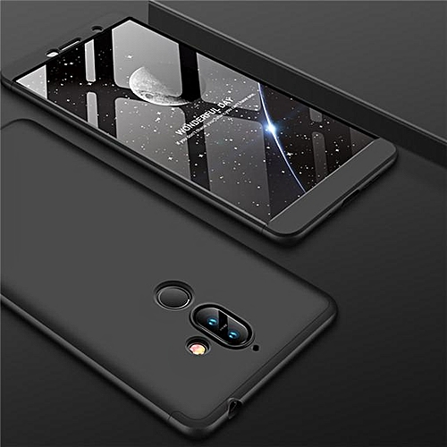 new products c967e 4d1d1 360 Full Protection Case For Nokia 7 Plus Slim Hard PC Plastic Armor Back  Cover For Nokia 7 Plus Case Cover Phone Cases