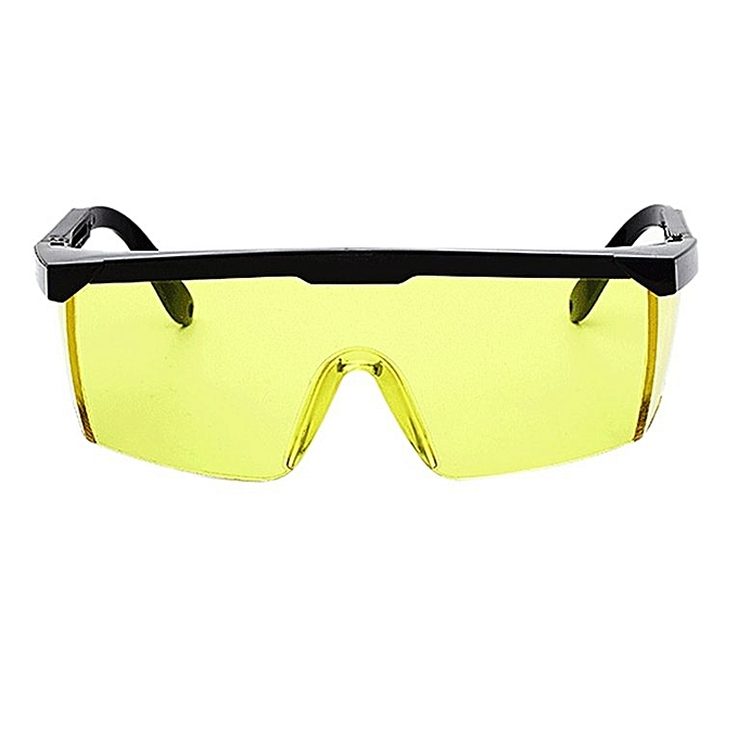 Home-Laser Protect Safety Glasses PC Eyeglass Welding Laser Protective  Goggles Yellow 1f272df8fc