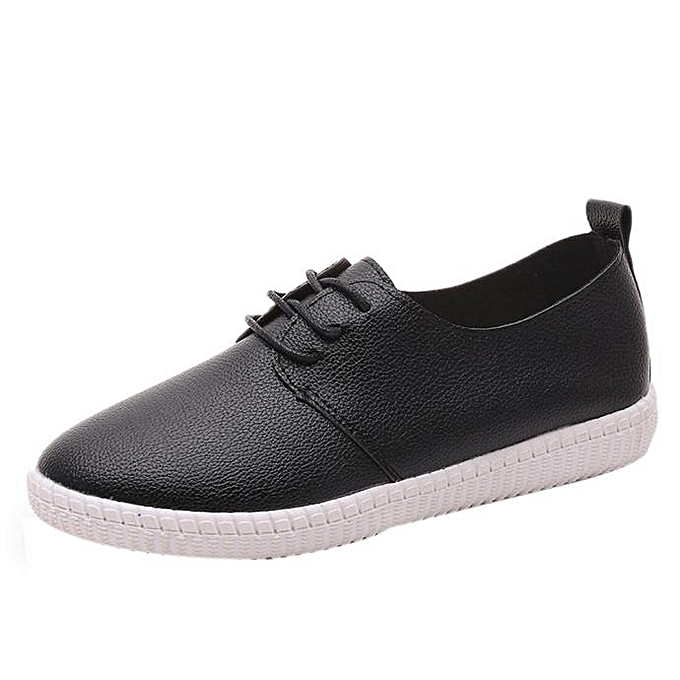166eb31fcd1 Women Flats Shoes Slip On Comfort Shoes Flat Shoes Loafers BK 39- Black -CN