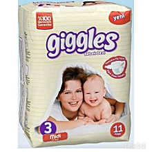 New Born Baby Protection Diapers Size 3 (11 Count)