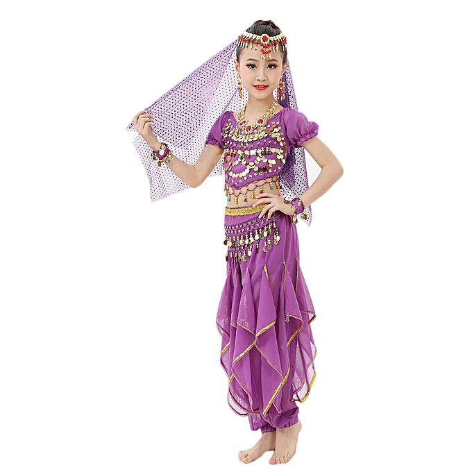 6f8cd85deb2d MUYI Handmade Children Girl Belly Dance Costumes Kids Belly Dancing ...