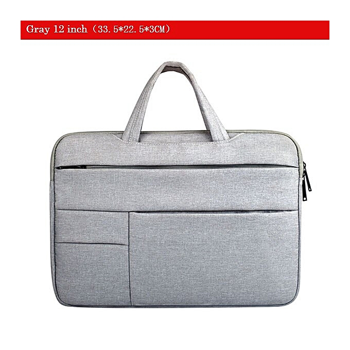 d91516289389 Soomile Laptop Bag 2018 Portable Men women Notebook Handbag Multi-function  Office Business Notebook Briefcase 12 13 14 15.6 inch(Silver gray 12 inch)
