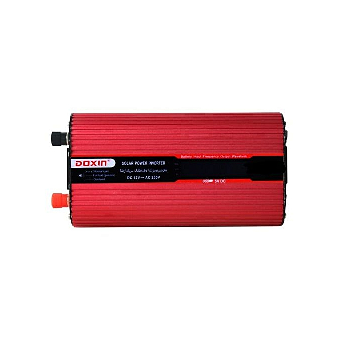 1000W LCD Power Inverter DC 12V To AC 110V Modified Sine Wave Converter