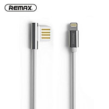 Remax RC-054i Emperor Data & Rapid Charge 2.1A Ligtning 1 Meter Cable for iPhone / Micor USB VVAXIANG
