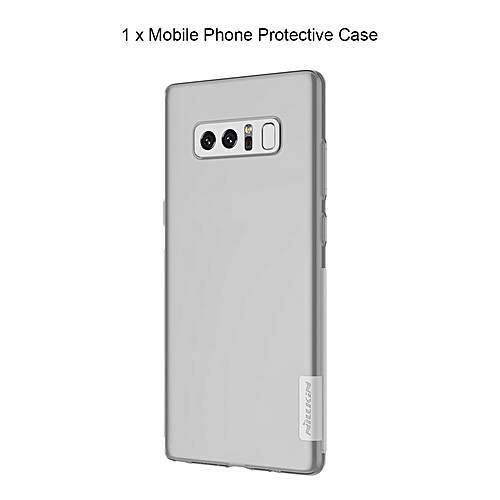 new product 850e0 cf89d CO Soft TPU Ultra Thin Back Protective Case Suitable For Samsung Galaxy  Note 8-white