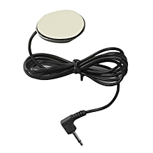 OR 3.5mm Wired External Car Microphone Paste Type Loud Speaker For DVD Radio Black