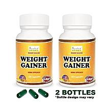 Herbals Body Mass Weight Gainer Herbal Supplement - 2 Bottles