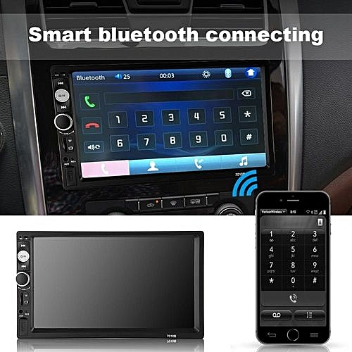 Universal 7 800 480 Bluetooth Car Video Audio Player Touch Screen