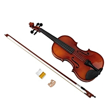 Astonvilla Spruce Wooden 4/4 Violin Lacquer Light Fiddle 4-String Instrument - -