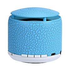 Portable Mini Wireless Stereo Bluetooth Speaker For Samgsung Tablet PC FM -Blue