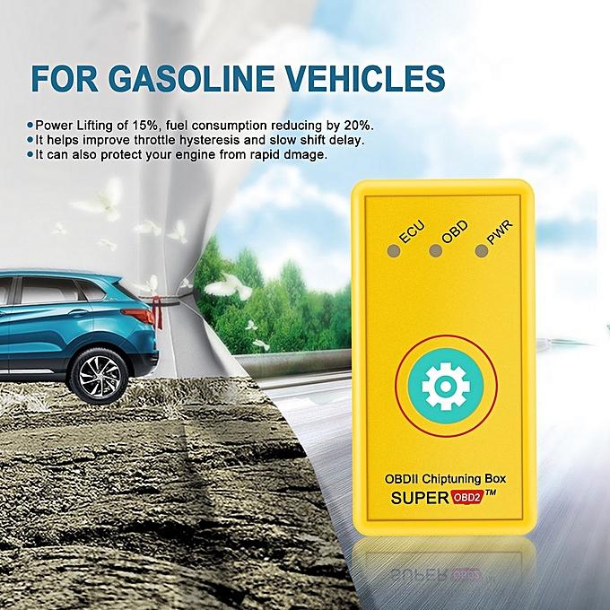 Plug And Drive Interface Super OBD2 ECU Chip Tuning Box For Gasoline  Vehicles Single Board