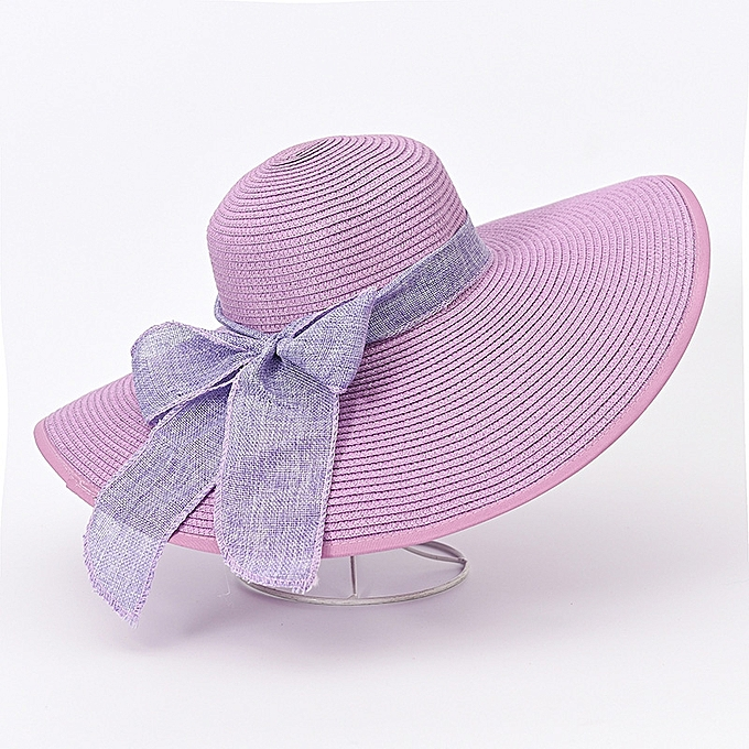 626b20a01f7ff 1Big butterfly-purpleThe sun protection Han Ban Xin s style of straw hat  sons and daughters