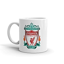 Liverpool Football Club Branded White Ceramic Mug 11oz