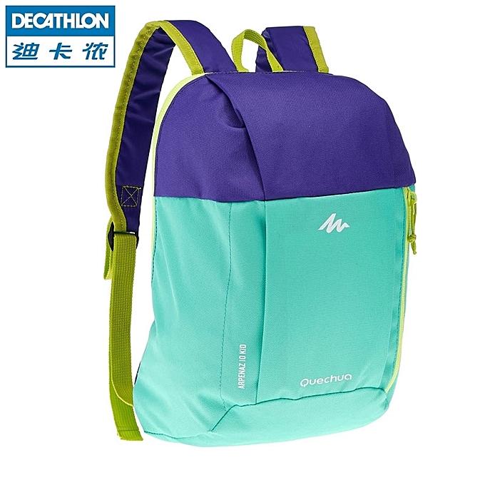 86d8431007a86 Green purpleDi card Nong child double shoulder shoulder bag men and women  the small schoolbag travek recreational mini sports bag 7 LQUBPs