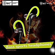 QKZ DM500 Driver Ear Hook Sport Running Fitness Stereo Earphones Bass with Microphone Headset PRI-P