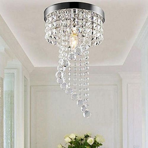 Modern LED Galaxy Spiral Crystal Chandelier Lamp Fixture Lighting Pendant Decor # 220V