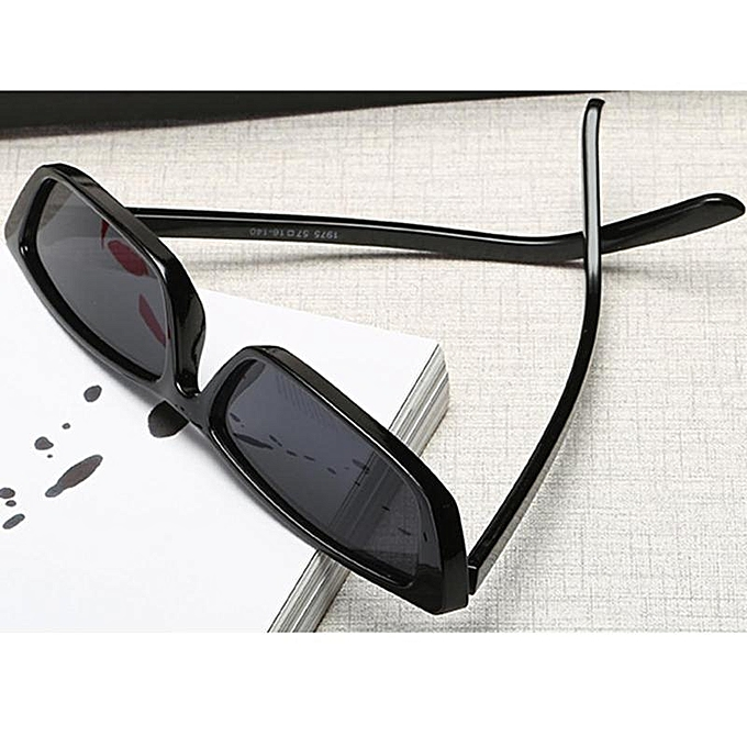 53c1222532 ... Hot sale MagiDeal Vintage Sunglasses Women Brand Designer Small Frame  Sun Glasses Black ...