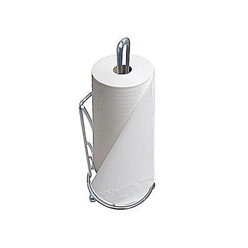 Serviette Roll Holder Kitchen Paper Towel Napkin Holder Silver