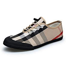 Fashion Canvas Sneakers Men Shoes (Khaki)
