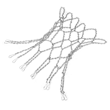 Basketball Metal Chain Net Official Size Rims Hoop 12 Loop Steel Heavy Duty NEW