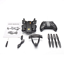 GB XS809S Mini RC Drone 6-axis 4CH Foldable Quadcopter Altitude Hold Helicopter-black