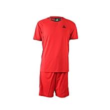 F/Ball Jersey/Shorts (set Of 16)- Ts6001red/Black- Set 16