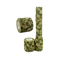 Technologg Outdoor And Camping Army Camo Outdoor Hunting Tool Camouflage Stealth Tape Waterproof Wrap -As Show