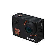 4K WiFi Action Sports Camera 14MP 1080P Voice Remote Control 6-axis EIS Stabilization 2.0inch IPS Distortion Correction 60m Waterproof Support Time-Lapse Fast/Slow Motion