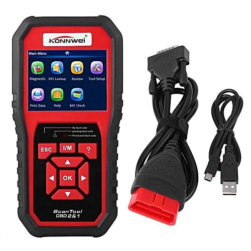 KW850 OBDII OBD2 EOBD Car Diagnostic Scanner Tool Fault Code Reader HonTai