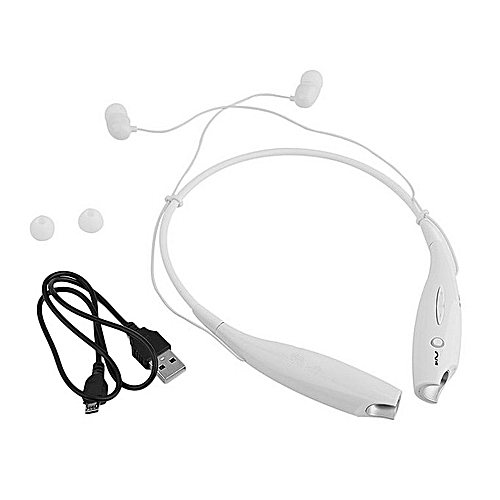 HBS-730 Wireless Bluetooth 4.0 Headset Earphone - White