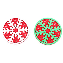 Christmas Coffee Table New water Coaster Insulation Pad Coaster Doily D