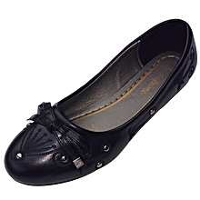 Women Black Flat Shoes