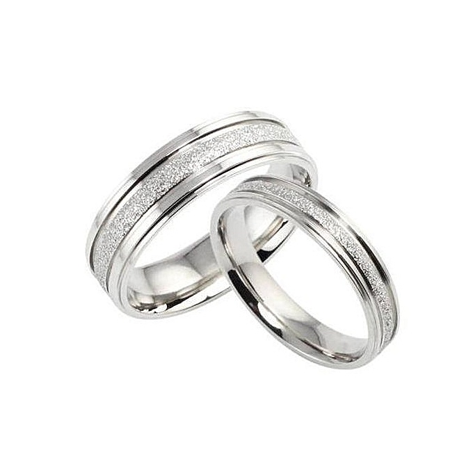 Buy Pablo Gift Shop Steel Couple Wedding Rings Best Price Jumia