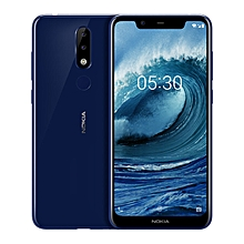 X5 5.86-inch (4GB, 64GB ROM) Android 8.1, 3060mAh, 13MP + 8MP, Dual Sim 4G LTE Smartphone - Blue